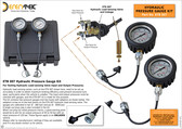 Hydraulic Pressure Gauge Kit