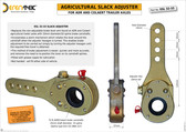 Slack Adjuster for ADR/Colaert Trailer Axles