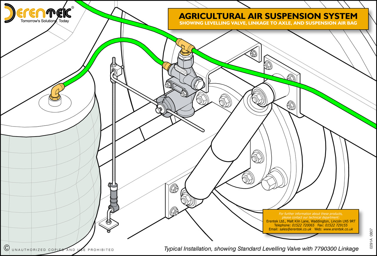 Erentek conversion kits for agricultural commercial and agricultural air suspension system part of typical layout pooptronica Images