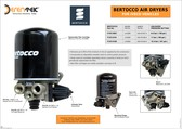 Bertocco Air Dryers for Iveco Vehicles
