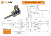 Air-Ride Levelling Valves for Air Suspension