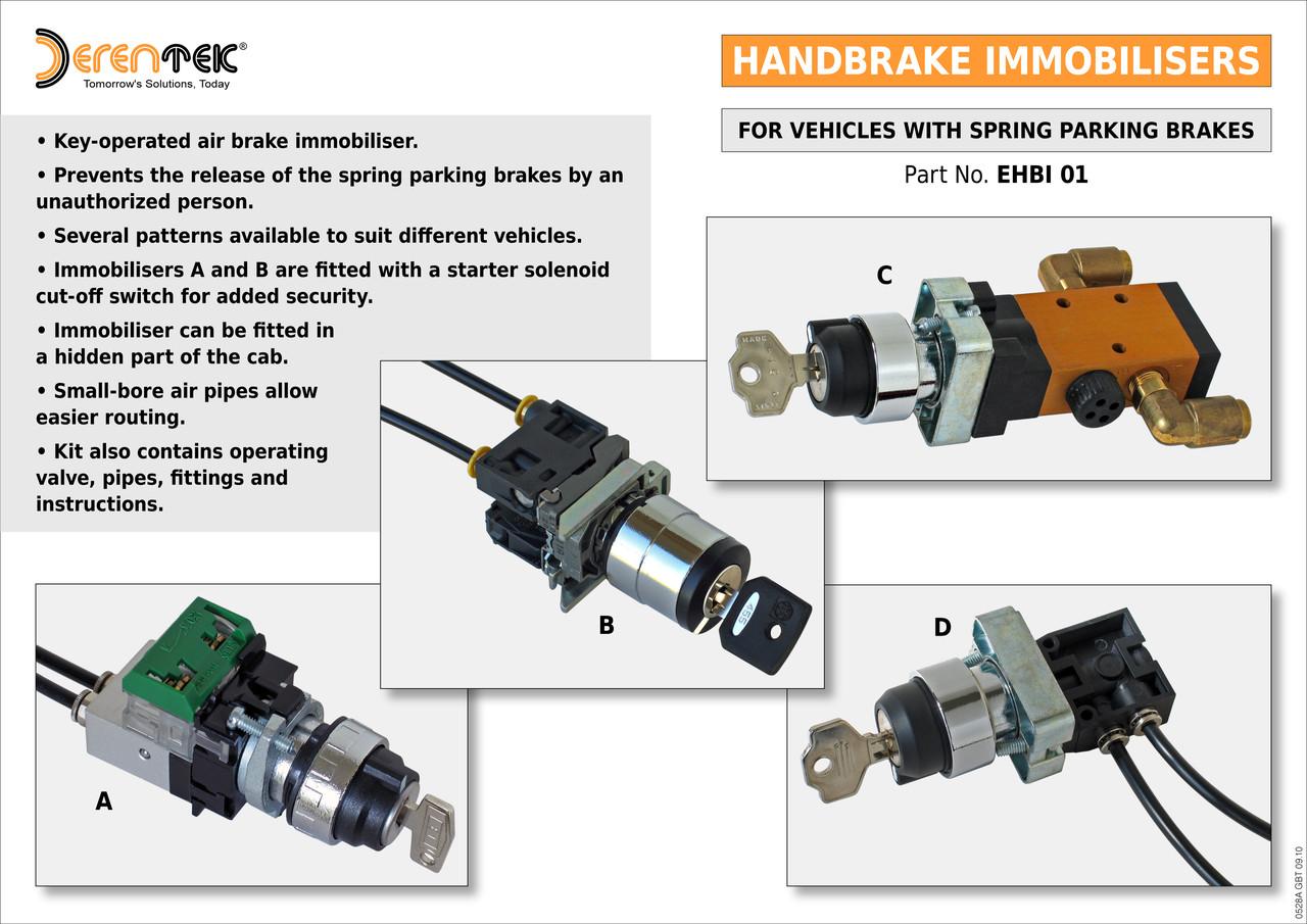 Erentek Agricultural Air Braking Hydraulic Braking And